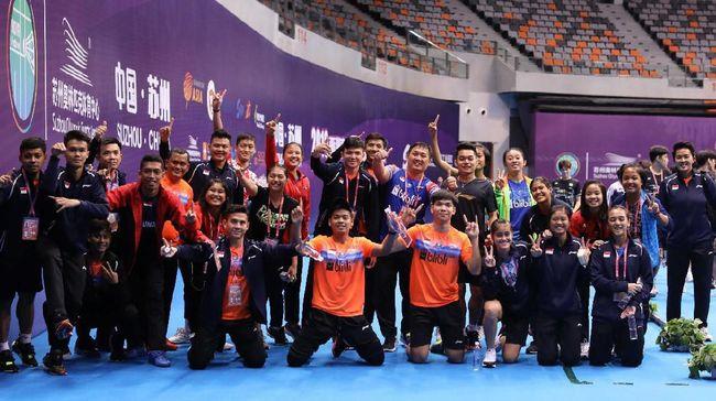 Indonesia akan menghadapi Thailand dalam final badminton Kejuaraan Asia Junior (AJC). Berikut jadwal laga final tersebut.