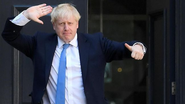 Momen pertama kali bertemu Presiden AS Donald Trump di G7 tak disia-siakan PM Inggris Boris Johnson untuk mengubah aturan dagang antar kedua negara.