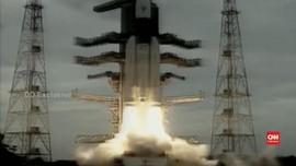 VIDEO: India Akhirnya Luncurkan 'Chandrayaan-2' ke Bulan