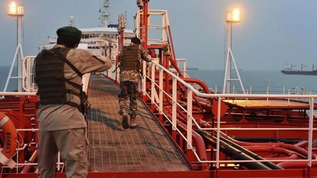 Tentara Iran Sita Kapal Tanker di Perairan Internasional
