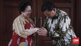 Prabowo Hadiahi Mega Lukisan Bung Karno Menunggang Kuda