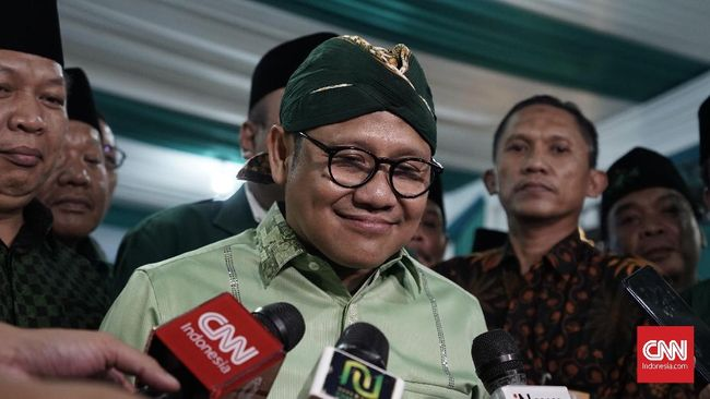 Ketua Umum PKB Muhaimin Iskandar mengajak anak muda lainnya untuk terjun ke politik seperti putra Jokowi, Gibran Rakabuming.
