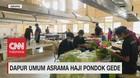 VIDEO: Menengok Dapur Umum Asrama Haji Pondok Gede