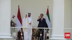 Presiden Joko Widodo Dijadikan Nama Jalan di Abu Dhabi