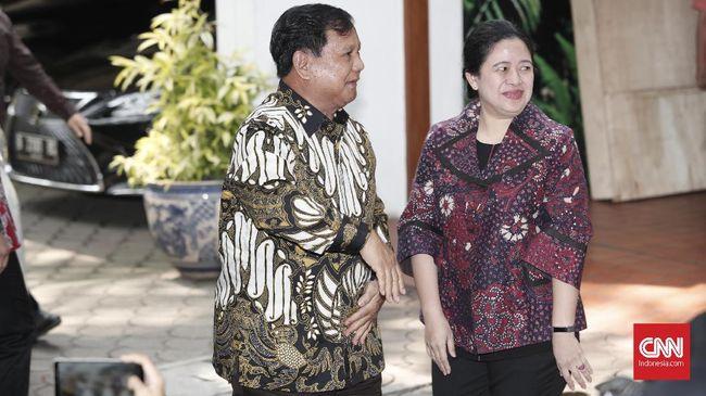 Arus Survei Indonesia (ASI) menyatakan Prabowo Subianto punya elektabilitas tertinggi, sementara Puan Maharani di urutan kesepuluh.