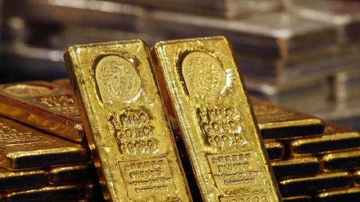 Harga Emas Antam, Masih Bersabar Tunggu Rekor