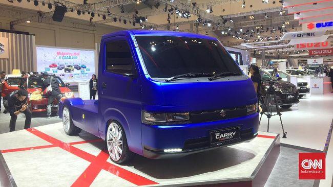 Distribusi kendaraan Suzuki Carry mencapai 67.448 unit Januari-Oktober 2020.