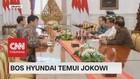 VIDEO: Bos Hyundai Temui Jokowi, Bahas Apa?