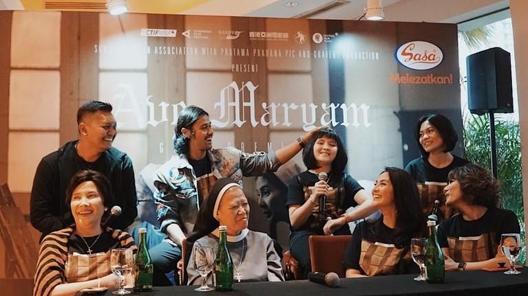 Hingga terakhir, Robby Ertanto menyutradarai film Ave Maryam yang juga sukses tayang di luar Indonesia. Film itu pertama kali tayang di Festival Film Internasional Hanoi 2018 hingga di Festival Film Asia Hong Kong 2018.