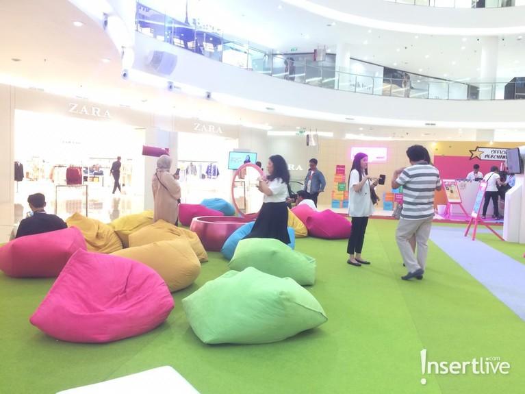 Jakarta X Beauty 2019 sendiri terbagi menjadi tiga area. Salah satu area yang banyak dipenuhi pengujung adalah area Playground di Atrium Senayan City.