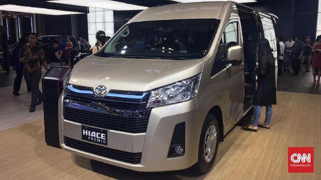 Varian Mewah Toyota HiAce, Lebih Besar dan Hidung 'Mancung'