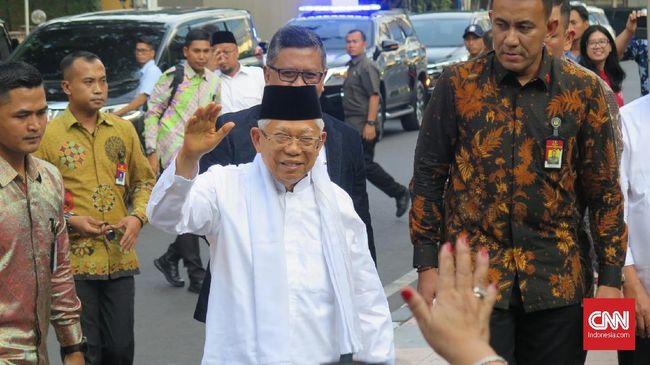 Rapat Pimpinan MUI menyatakan, Ma'ruf Amin akan tetap menjabat sebagai Ketua Umum MUI hingga 2020. Namun, Ma'ruf berstatus nonaktif.