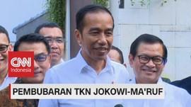 VIDEO: Jokowi: TKN Dibubarkan Karena Pilpres Telah Usai