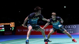 Japan Open: Kevin/Marcus Antusias Sambut All Indonesian Final