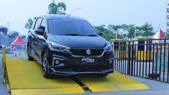 Ertiga Suzuki Sport Terfavorit di Arena 'Test Drive' GIIAS