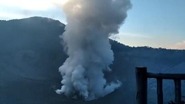 Sejarah Gunung Sunda, Asal Usul Gunung Tangkuban Parahu