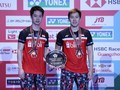 FOTO: Podium Wakil Indonesia di Final Japan Open 2019