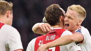 Sulit Boyong Pogba, Madrid Bidik Gelandang Ajax