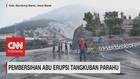 VIDEO: Pembersihan Abu Erupsi Tangkuban Parahu