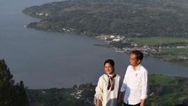 Jokowi Ingin Geopark Kaldera Toba Diakui UNESCO