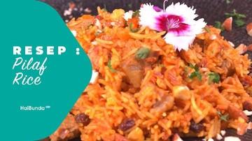 Resep Pilaf Rice