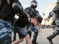 Rusia Tahan 1.400 Demonstran yang Tuntut Pemilu Adil