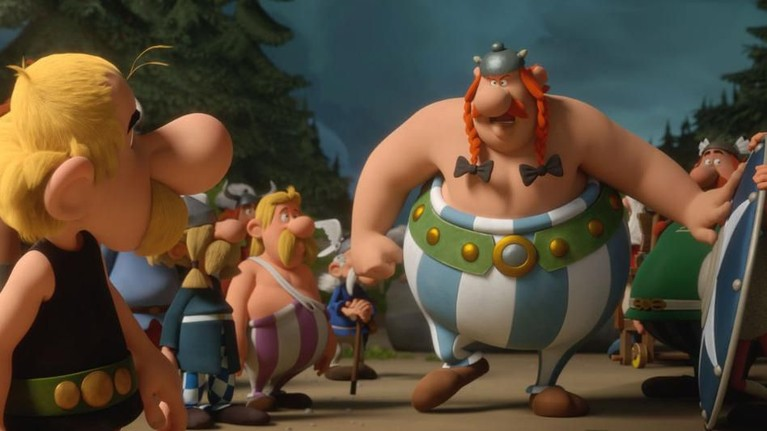 Komedi petualangan Asterix dan Obelix kembali hadir di film animasi Asterix: The Secret of the Magic Potion.