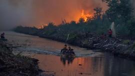 FOTO: Kebakaran Hutan di Aceh dan Riau