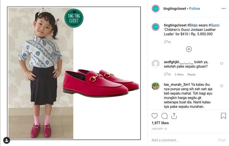 Bilqis Khumairah Razak, putri semata wayang Ayu Ting Ting sudah memiliki sejumlah barang mewah dengan harga fantastis, intip yuk!