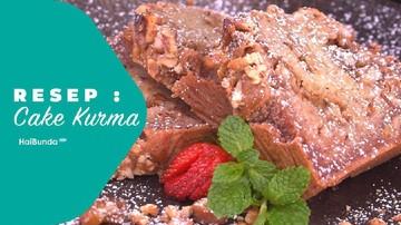 Resep Cake Kurma