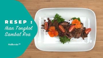 Resep Ikan Tongkol Sambal Roa
