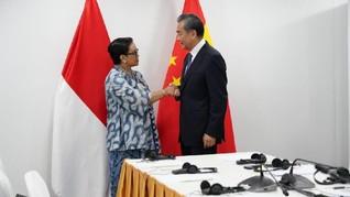 Menlu China Kunjungi RI hingga Kasus Mutasi Corona di Jepang