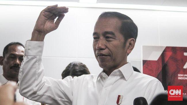 Presiden Jokowi mengatakan pengumuman kabinet tak perlu menunggu pelantikan Oktober. Dia mengaku sudah memfinalisasi susunan kabinet 2019-2024.