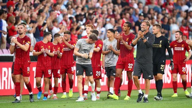 Liverpool diadang rapor buruk bermain di Turki jelang pertandingan Piala Super Eropa 2019 melawan Chelsea di Vodafone Arena, Rabu (14/8) waktu setempat.