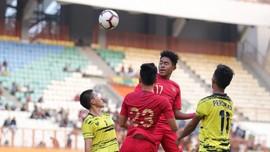 Babak I: Timnas Indonesia U-18 Unggul 5-0 atas Filipina
