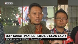 VIDEO: BOPI Soroti Panpel Pertandingan Liga 1