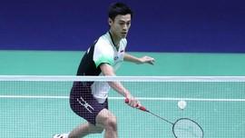 Shesar Hiren dan Leo/Daniel Absen di Singapura Open 2021