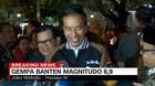 VIDEO: Gempa Banten, Jokowi Minta Warga Tenang dan Waspada