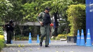 Aparat Thailand Tangkap Perakit Bom Bangkok