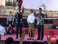 Peringati HUT RI, Jokowi 'Wayangan' di Istana