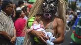 Festival El Salvador del Mundo digelar sebagai bagian perayaan santo pelindung kota San Salvador, El Salvador dari 1 Agustus hingga 6 Agustus 2019.