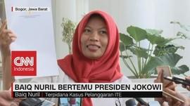 VIDEO: Baiq Nuril Bertemu Presiden Jokowi
