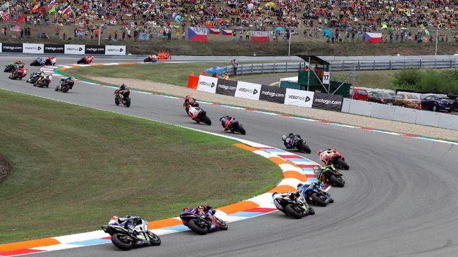 Berikut jadwal live streaming MotoGP Ceko 2020 dari Sirkuit Brno yang bisa disaksikan melalui CNNIndonesia.com.