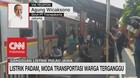 VIDEO: KRL Lumpuh, Tranjakarta Bantu Transportasi di Ibu Kota