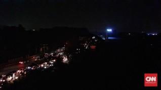 Gardu Induk Cawang Terganggu, Sebagian Jakarta Mati Lampu