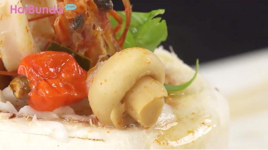 Resep Tom Yum Goung Soup Batok Kelapa, Asam Pedasnya Menyegarkan
