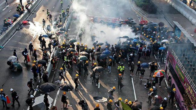 Aksi demo di Hong Kong masih akan berlanjut. Pemrotes diperkirakan berkumpul di pusat kota Hong Kong pada Sabtu (31/8).
