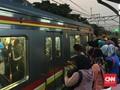 Netizen Keluhkan Gangguan Perjalanan KRL Serpong