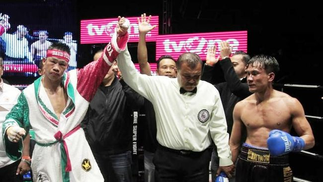 Petinju Indonesia, Daud Yordan, bakal naik ring tinju lagi tahun ini usai mengalahkan Aekkawee Kaewmanee di Thailand.