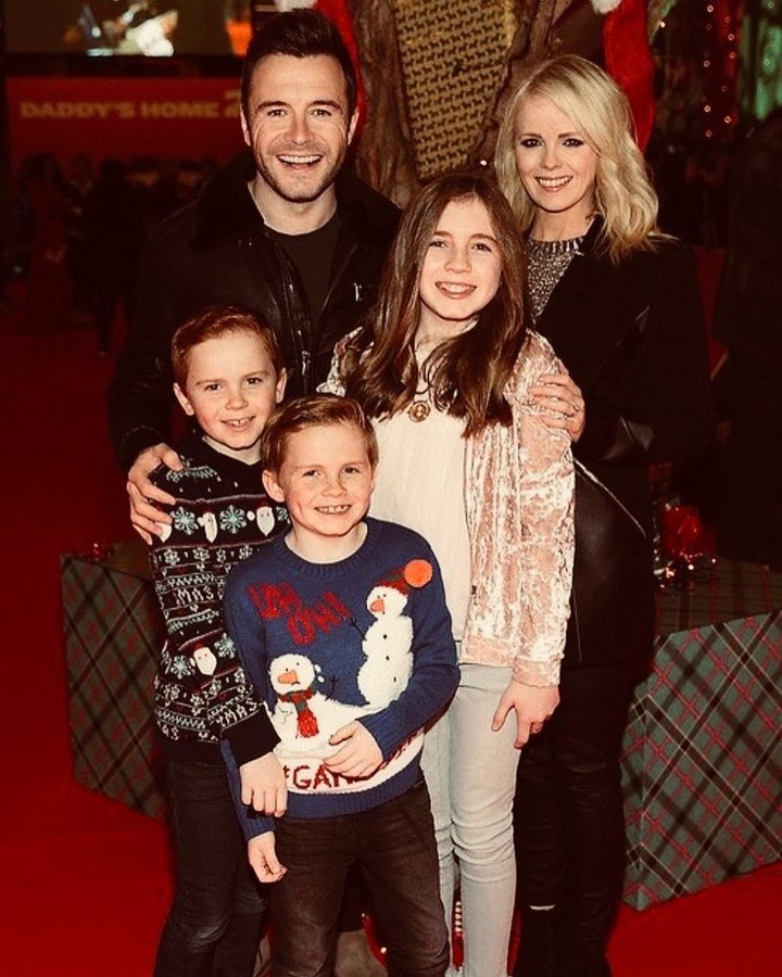 Di usianya yang ke-40 tahun, personel Westlife, Shane Filan, sudah memiliki tiga orang anak.